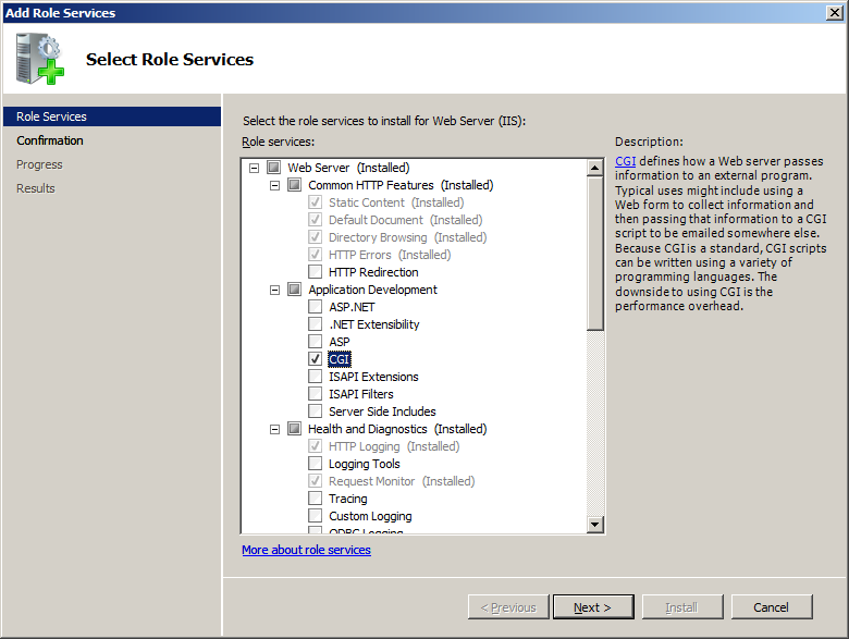 using-fastcgi-to-host-php-applications-on-iis-246-IIS20-20Enable20FastCGI20Role